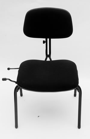 new ergonomically designed chair for musicians black cat music