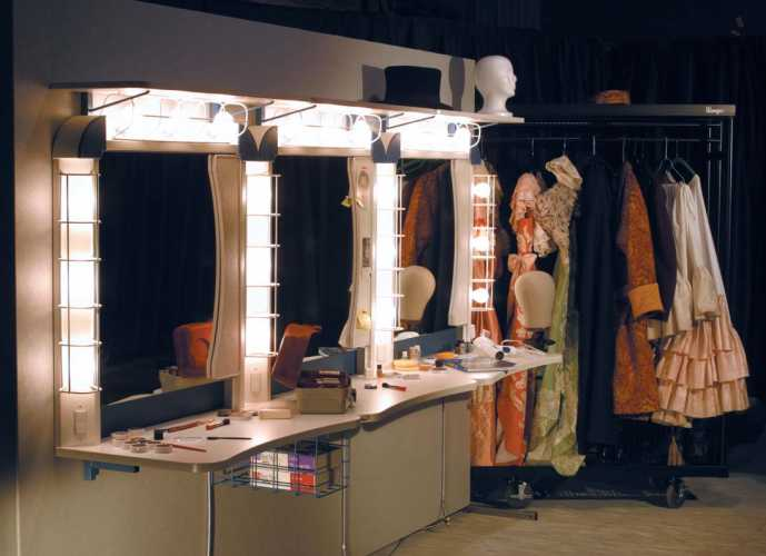 9 Light Make Up Station Theatre Products Black Cat