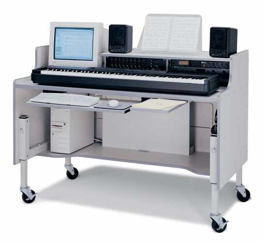 Music Lab Workstation Expanded - Workstations - Mobili per tecnologia ...