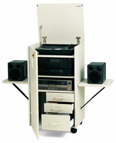 Armadio per impianto stereo - Workstations - Mobili per tecnologia ...